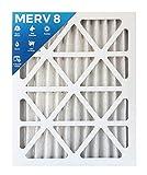 18x24x2 MERV 8 AC Furnace 2'' Inch Air Filter - 2 PACK