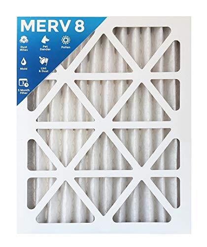 18x24x2 MERV 8 AC Furnace 2'' Inch Air Filter - 2 PACK by Filters Delivered