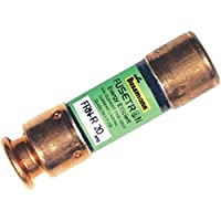 Bussmann BP/FRN-R-20 20 Amp Fusetron Dual Element Time-Delay Current Limiting Class RK5 Fuse, 250V UL Listed (Pack of 2)