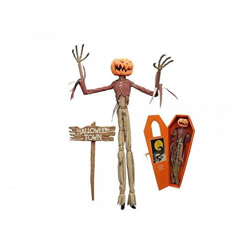 Diamond Select Toys The Nightmare Before Christmas: Pumpkin King Jack Coffin (Christmas Jack Pumpkin)