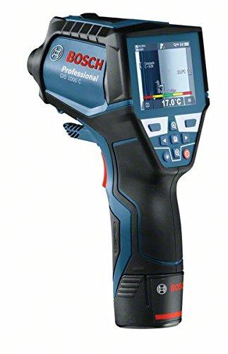 Bosch Professional GIS 1000 Celsius Thermodetektor, Messbereich minus 40 Grad Celsius bis plus 1000 Grad Celsius, Karton, 0601083300