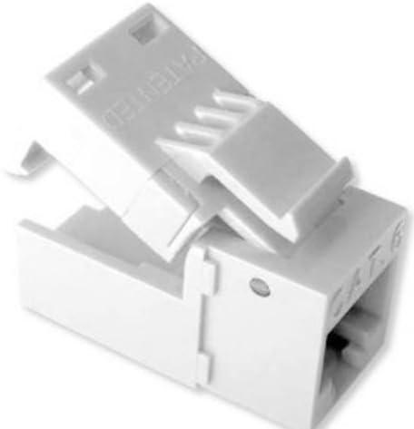 Platinum Tools EZ-SnapJack Cat5e 4//Clamshell. Green