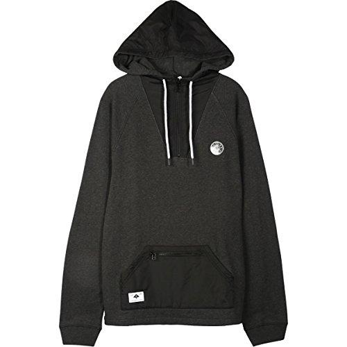 Zip Lrg Hoody (LRG Mens Locale Half Zip Hoody Pullover Sweatshirts X-Large Black)