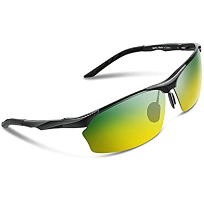 Torege Men's Polarized Sunglasses For Cycling Fishing Driving Golf Glasses M292