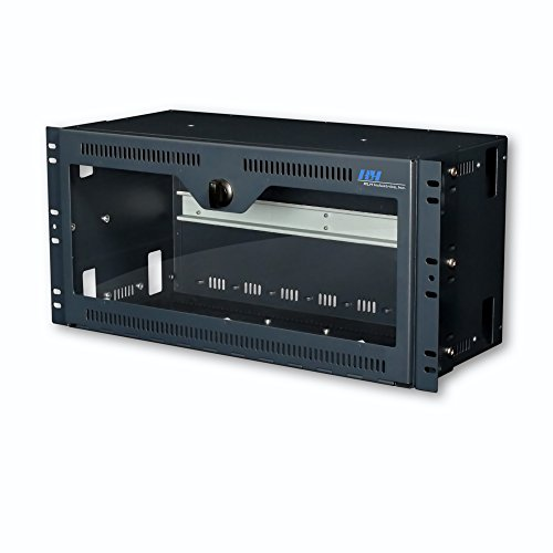 Rack & Wall Mount DIN Rail Device Enclosure ()