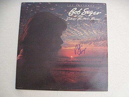 Bob Seger Autographed The Distance Vinyl LP COA