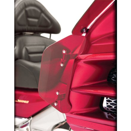 Show Chrome Accessories Lower Wind Deflector ()