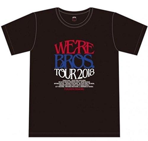 ☆福山雅治☆WE`RE BROS.TOUR 2018☆グッズ☆Tシャツ 黒Sサイズ☆