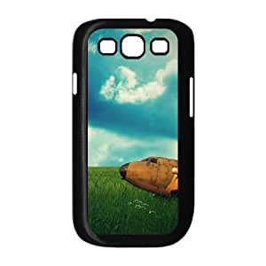 Samsung Galaxy S 3 Case, rusty plane Case for Samsung Galaxy S 3 Black