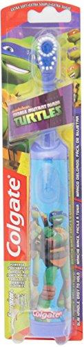Colgate Kids Power Toothbrush, Teenage Mutant Ninja Turtles, Extra Soft, color and design may ()