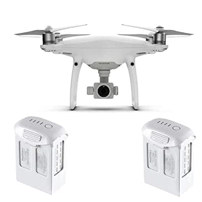 "DJI Phantom 4 Pro+ Quadcopter Drone with 5.5"" FHD Screen Remote Controller - Bundle With Spare Battery"