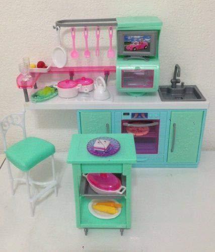 Amazon Com Zfinding Dollhouse Furniture For Barbie Dolls Aquatic