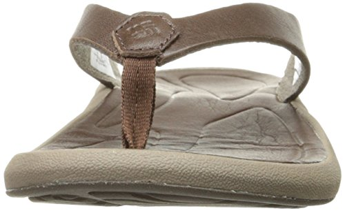 Caprizee Flip Cordovan Columbia Sandal Leather Tobacco Athletic Women's 1axgR8x