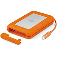 LaCie Rugged Thunderbolt and USB 3.0 2TB Portable Hard Drive STEV2000400