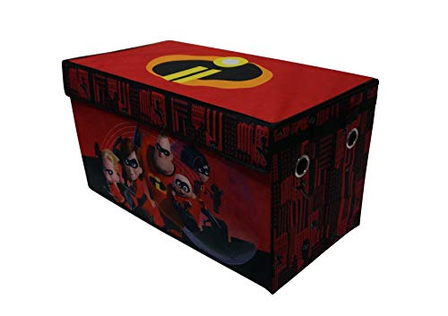 Incredibles Collapsible Storage Trunk, Red