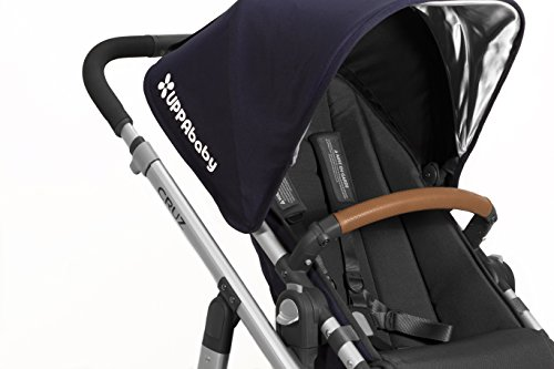 - UPPAbaby Leather Bumper Bar Cover - Saddle
