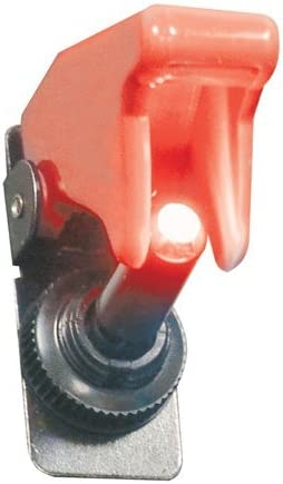 Plasmaglow 11101 Red LED Fighter Jet Switch