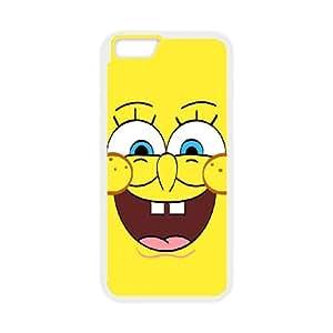 iPhone 6 4.7 Inch Cell Phone Case White Sponge Bob hzbj