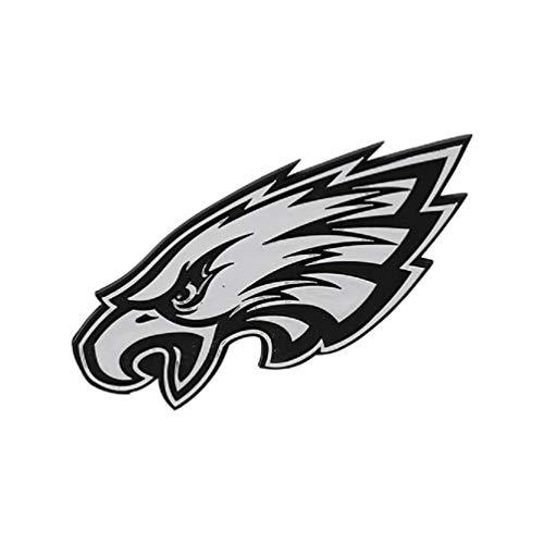 Hall of Fame Memorabilia Philadelphia Eagles Silver Auto Emblem