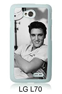 Elvis Presley 1 White New Customized LG L70 Phone Case