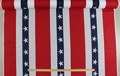Patriotic USA Red White and Blue Bunting Banner Display 60""