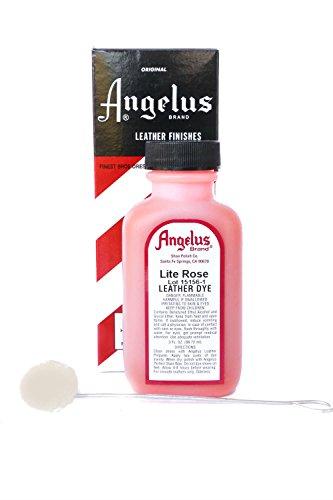 Angelus Brand Leather Dye w/Applicator - 3 oz , Light - Light Dye Leather