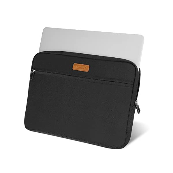Inateck LC1400B, Borsa custodia sleeve morbida per laptop 14-14.1 pollici, compatibile con MacBook Pro 15 pollici nuovo… 3 spesavip