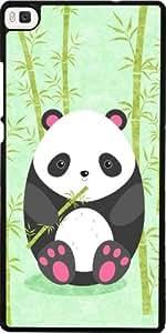 Funda para Huawei Ascend P8 - Panda by eDrawings38