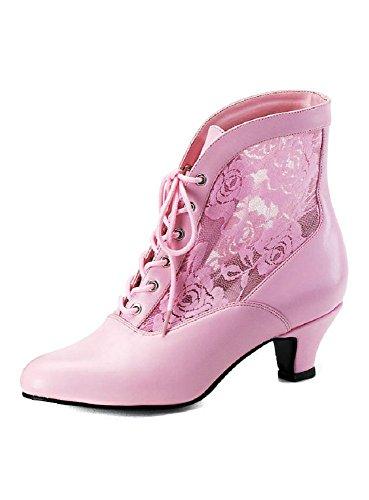 Funtasma - Botas de material sintético para mujer rosa rosa 41
