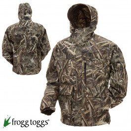 Frogg Toggs Toadrage Camo Jacket, Realtree Max 5 HD, X-Large
