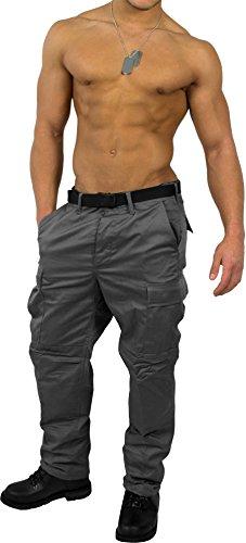 US Rangerhose Freizeithose Rangerhose BDU Style Farbe Grau Größe 3XL