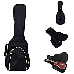 Hola! Heavy Duty SOPRANO Ukulele Gig Bag Perfect for both pineapple and standard-sized SOPRANO ukuleles up to 21.5 Inch. With its soft, quirky twang and its distinctively Hawaiian melodies, your ukulele is completely unique from other instruments. Do...