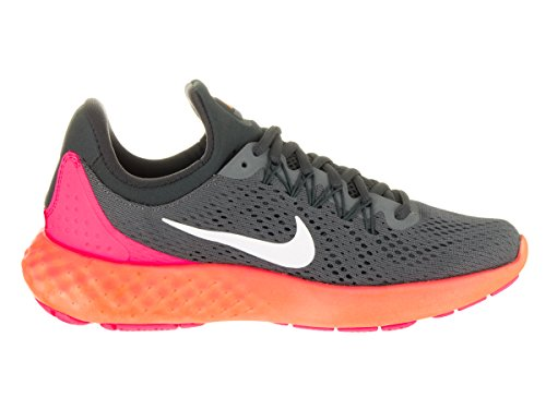 Nike 855810-004, Zapatillas de Trail Running para Mujer Gris (Dark Grey / White / Anthracite / Pink Blast)