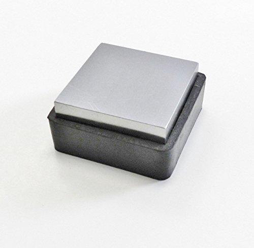 - Steel Bench Block W/ Rubber Base 2-1/2 x1