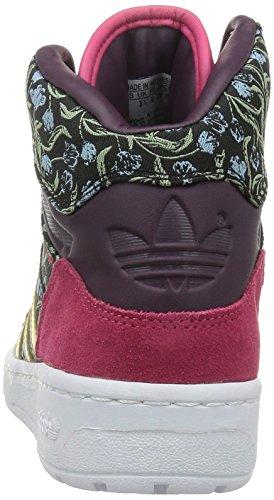 adidas Damen M Attitude W High-Top FLORAL-BLACK/GOLD/WHITE