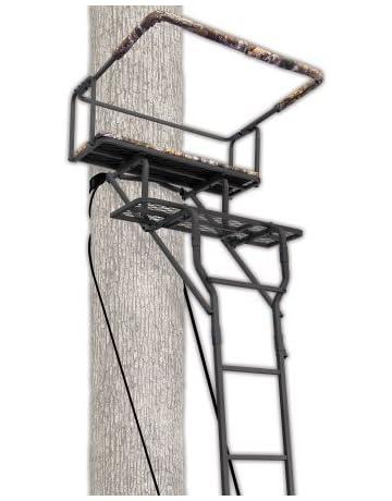 213d83ad21c Ameristep 15  Two-Man Ladderstand w  RealTree AP Seat