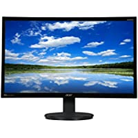 """2017 Newest Acer Business 23.8"""" Full HD 1920 x 1080 IPS LCD/LED Widescreen Monitor with D-sub/DVI/HDMI, Tilt Capable with Built in Speakers, Black"""