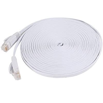 Fosmon Cat6 Flat Snagless Network Ethernet Patch Cable