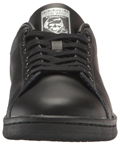 Adidas Womens Stan Smith Leather Trainers Black/Black/Supplier Colour
