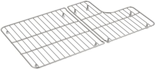 KOHLER 6449-ST Sink Racks for Whitehaven K-5826 and K-5827 Sinks, Stainless Steel by Kohler (Image #2)