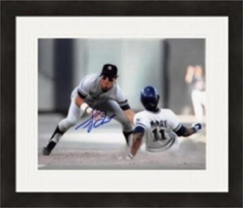 - Autographed Bucky Dent Photo - 8x10) #3 Matted & Framed - Autographed MLB Photos