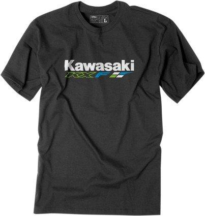 Factory Effex (18-87146) KXF T-Shirt (Heather Grey, X-Large)