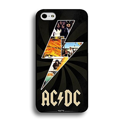 Iphone 6 Plus / 6s Plus ( 5.5 Inch ) ACDC Band Cover Shell Unique Shining Lightting Style Hard Music Rock Band Designed AC/DC Phone Case Cover for Iphone 6 Plus / 6s Plus ( 5.5 Inch )