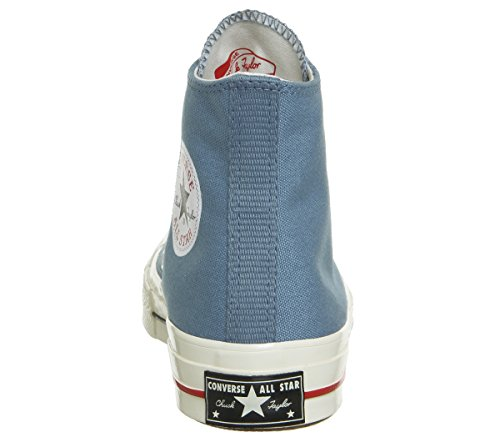 Converse Unisex Adults' All Star Prem Hi 197's Textil Fitness Shoes, White Aegean Storm Gym Red