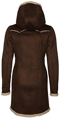 myMO - Duffel-coat 25434994 - Mujer marrón oscuro