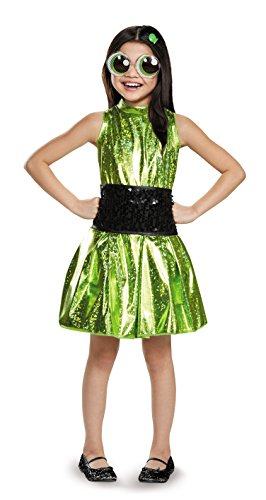 Buttercup Deluxe Powerpuff Girls Cartoon Network Costume, Large/10-12 -