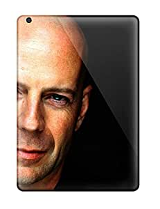 Ultra Slim Fit Hard ZippyDoritEduard Case Cover Specially Made For Ipad Air- Bruce Willis