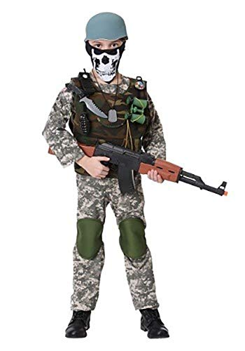 Deluxe Child Camo Trooper Costume, X-Large