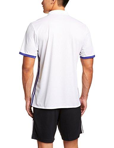 Replica Homme Crystal grezzo viola Maillot Domicilio Madrid Real Adidas Bianco SwqX1TEw