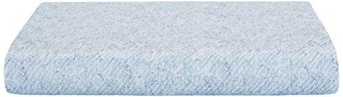 Calvin Klein Flat Sheet (Calvin Klein Home Silver Vine Shibori Twill Flat Sheet, King, Mist)